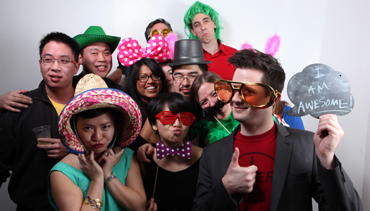 featured toronto photo event booth for wedding and fundraiser